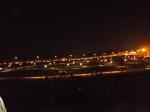 Rupa-rupa lampu anu harurung di hareupeun Stadion