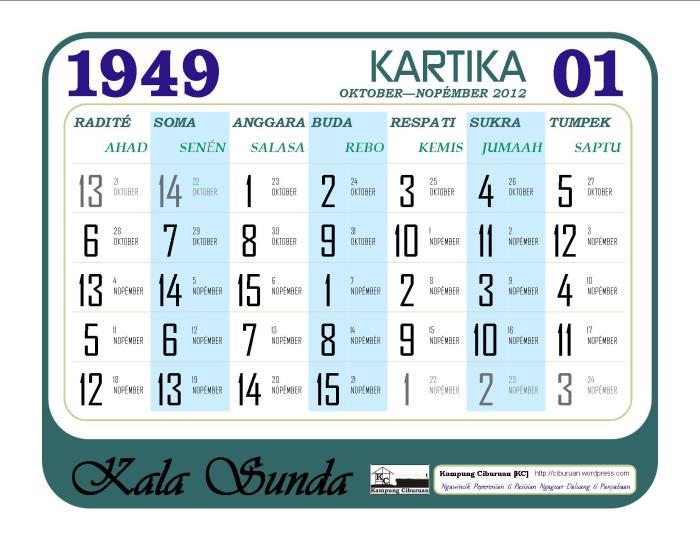 Kartika 1949 Candra Kala Sunda