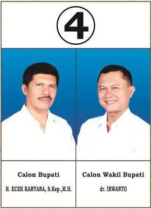 Pasangan calon nomer 4