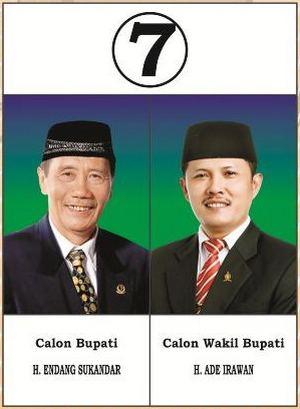 Pasangan calon nomer 7
