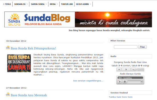 SundaBlog anu anyar