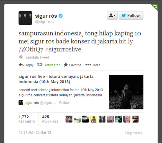 Twit Sugur Ros make Basa Sunda