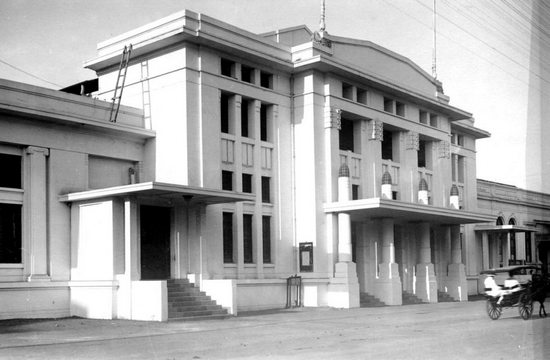 Gedong Societeit Concordia 1921 beunangna Wolff Schoemaker