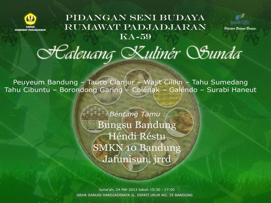 Haleuang Kuliner Sunda