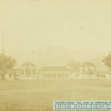 Kantor Bupati Sumedang dina taun 1890-an