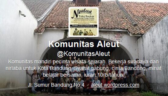 Komunitas Aleut! di twitter