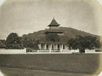 Masigit Agung Sumedang dina taun 1880-an