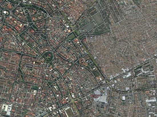 Salasahiji wewengkon di dayeuh Bandung anu ngaran jalanna tina ngaran tutuwuhan