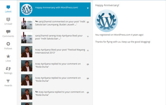 Wawaran ti WordPress.com