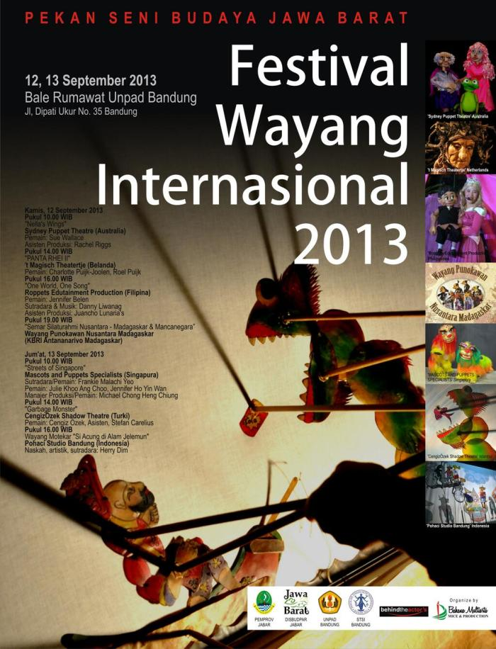 Festival Wayang Internasional 2013