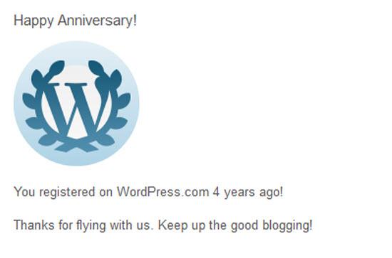 Opat taun blog Kampung Ciburuan di loka WordPress.com