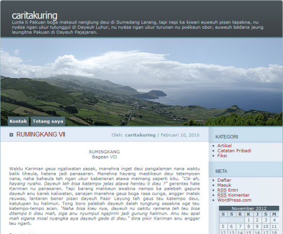 Blog CaritaKuring