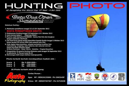 Hunting Photo Batu Dua Open Sumedang