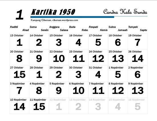 Kartika Candra Kala Sunda 1950