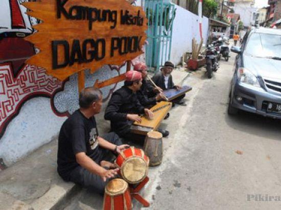 Mapag pagelaran Kampung Wisata di Kampung Kreatif Dago Pojok