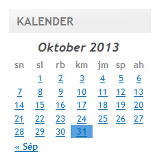 Pedalan blog Kampung Ciburuan salila bulan Oktober 2013