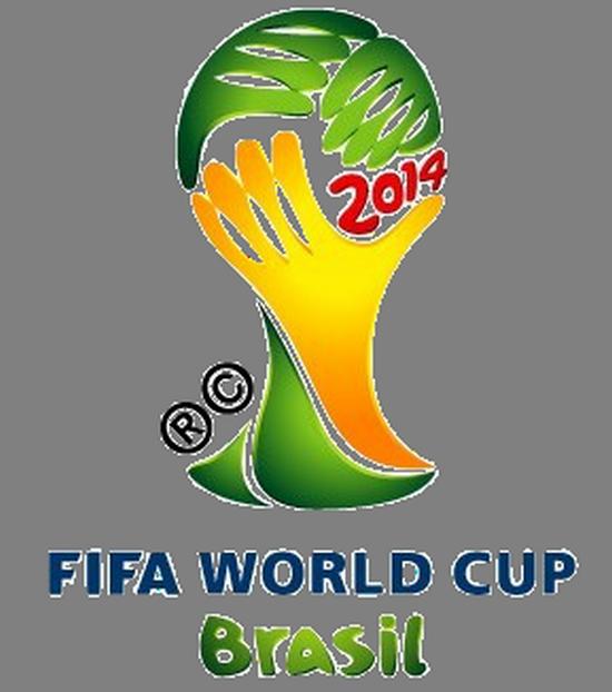 Simbul Piala Dunia 2014 Brasil