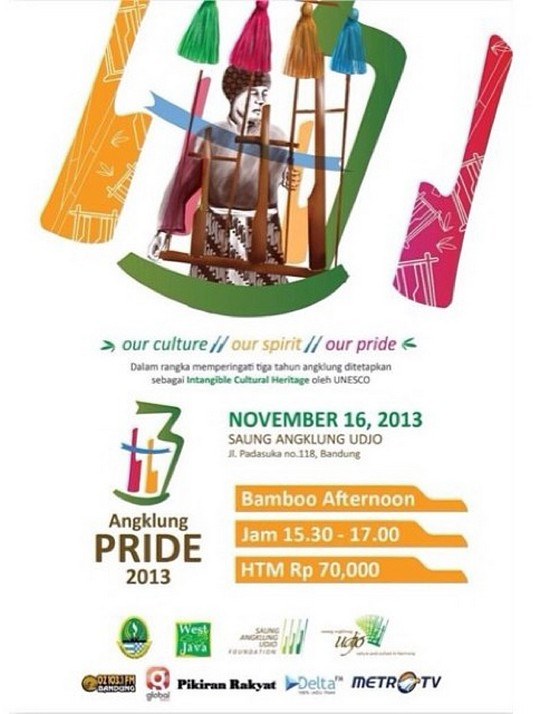Pagelaran Angklung Pride 2013