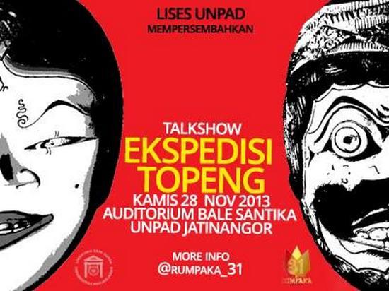 Talkshow Ekspedisi Topeng