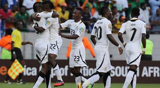 Ghana, salasahiji nagara anu asup Piala Dunia 2014 di Brasil