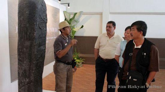 Paméran 'Jejak Kerajaan Sunda' di Musieum Sri Baduga