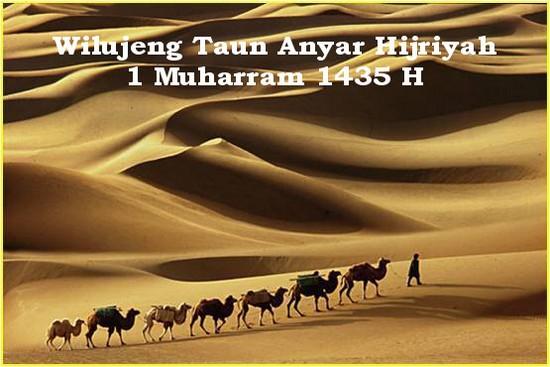 Wilujeng taun anyar Hijriyah 1 Muharram 1435 H