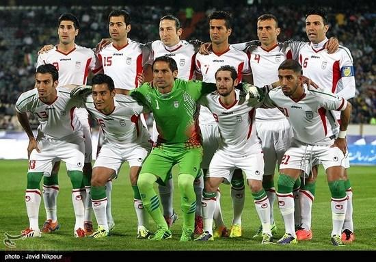 tim mengbal nagara Iran