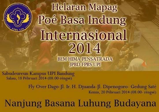 Hélaran Mapag Poé Basa Indung Internasional 2014