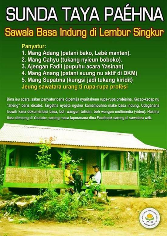 Sunda Taya Paéhna, Sawala Basa Indung di Lembur Singkur