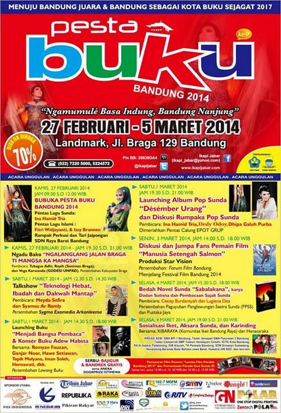 Pesta Buku Bandung 2014, Ngamumulé Basa Indung, Bandung Nanjung
