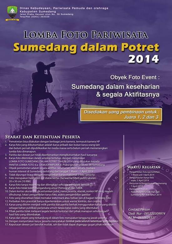 Saémbara Potrét Pariwisata Sumedang 2014