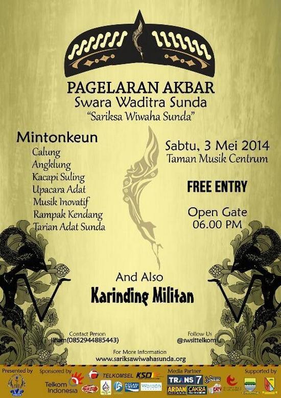 Pagelaran Sariksa Wiwaha Sunda 2014