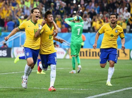 Tim Brasil ngalawan tim Kroasia