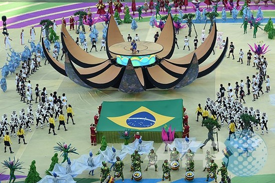 Raména Bubuka Piala Dunia 2014