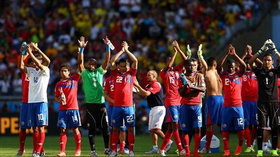 Tim mengbal Kosta Rika, salasahiji tim anu maen dina undakan kadua