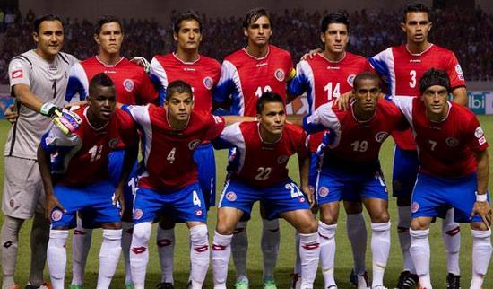 Tim mengbal nagri Kosta Rika