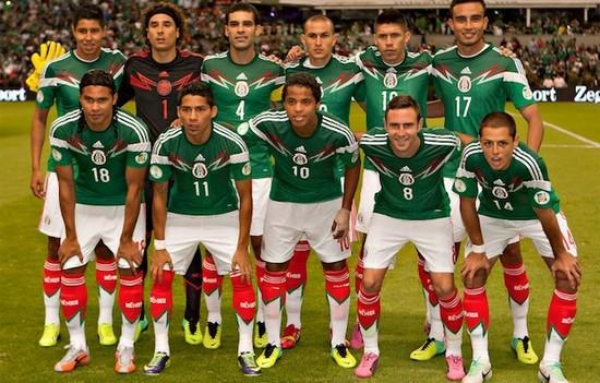 Tim mengbal nagri Meksiko