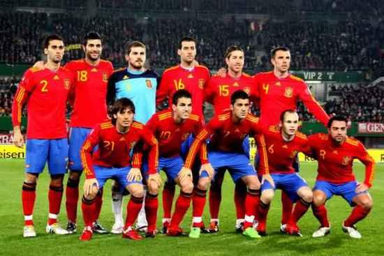 Tim mengbal nagri Spanyol