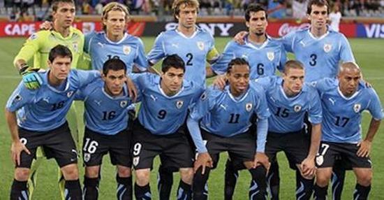 Tim mengbal nagri Uruguay