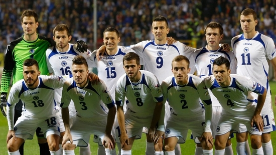 Tim mengbal nagri Bosnia Herzegovina