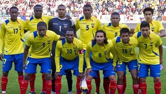 Tim mengbal nagri Ekuador