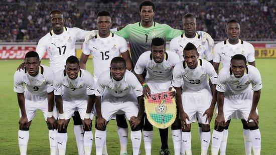 Tim mengbal nagri Ghana