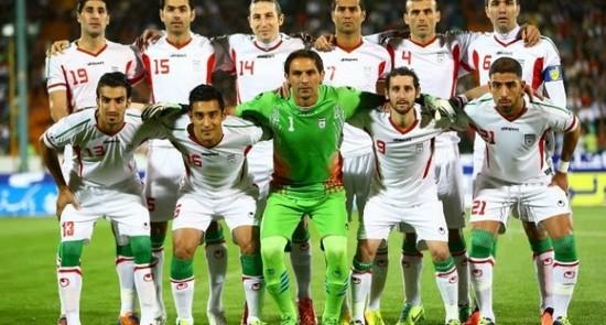 Tim mengbal nagri Iran