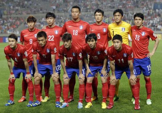 Tim mengbal nagri Korea Kidul