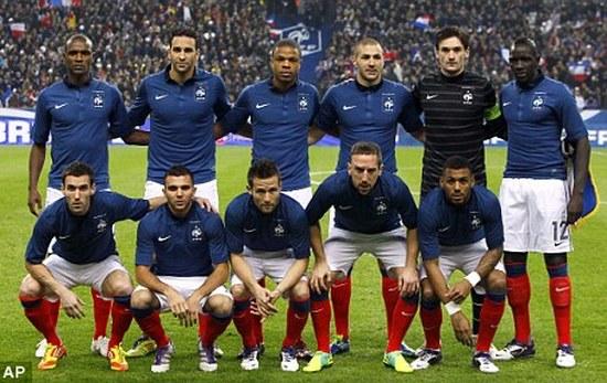 Tim mengbal nagri Perancis