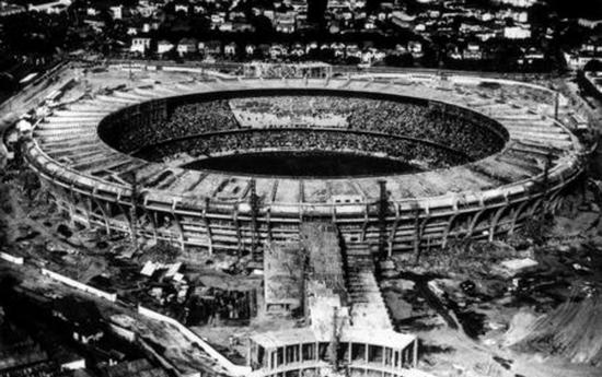 Stadion pangagrengna waktu harita, Stadion Maracana