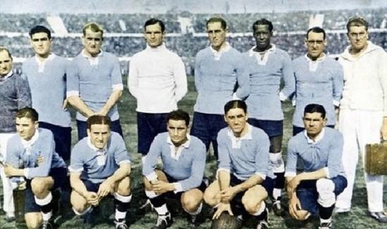 Tim Uruguay anu nyangking kalungguhan jawara Piala Dunia 1950