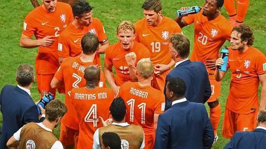 Tim Walanda, salasahiji tim anu asup undakan semifinal Piala Dunia 2014