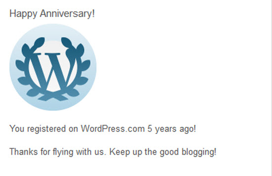 Lima taun ngageugeuh mandala WordPress