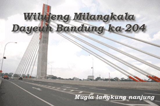 Milangkala dayeuh Bandung
